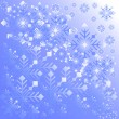Snowflake light background — Stock Vector #36073691