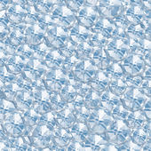 Abstract blue crystal geometric background — Stock Photo