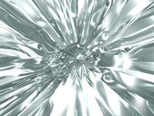 Abstract chrome background — Stock Photo