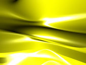 Glossy yellow abstract background — Stock Photo