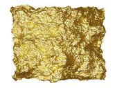 золотая фольга патч — Стоковое фото