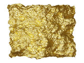 Blattgold-patch — Stockfoto