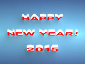 Happy New Year 2015 background — Stock Photo