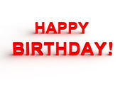 Happy Birthday background — Stock Photo