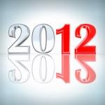 New Year 2012 background — Stock Photo #7471201