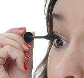 Woman with mascara — Stock Photo