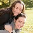 Happy sisters — Stock Photo