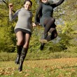 Joyful leap — Stock Photo #36496025