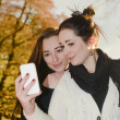 Smiling girlfriends — 图库照片 #36497095