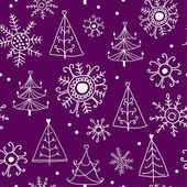 Christmas pattern. — Stock Vector
