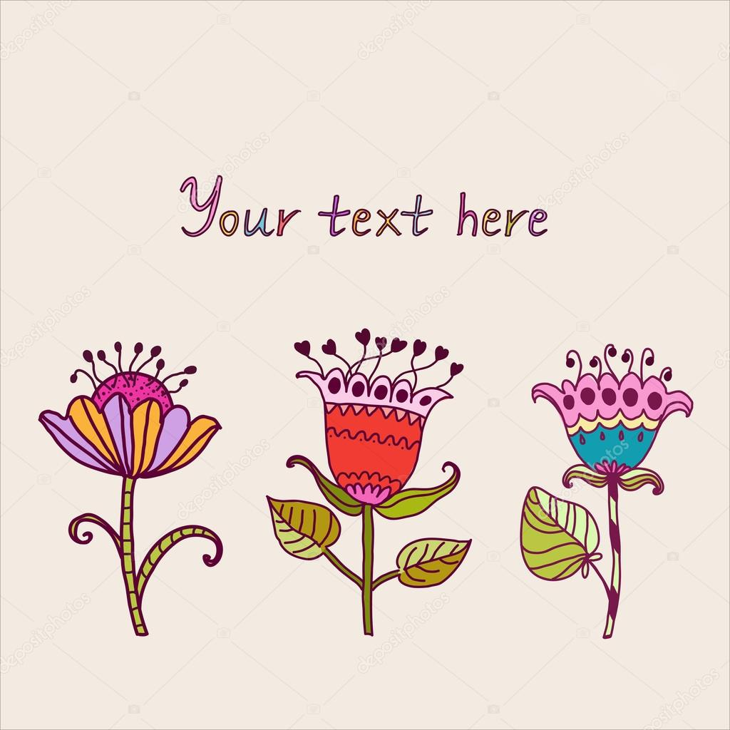 Floral composition  Stock Vector #13468093