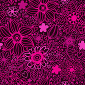 Floral seamless pattern in vector — Stock Vector