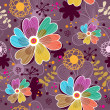 Royalty-Free Stock Vector Image: Floral seamless pattern in vector