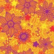 Floral seamless pattern in vector — ベクター素材ストック