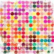 Abstract circles background with grunge paper. — Stock Vector