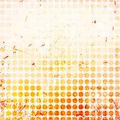 Abstrakt cirklar bakgrund med grunge paper. — Stockvektor
