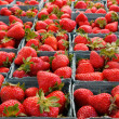 Stock Photo: Larger DOF horizontal strawberries