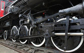 Old Steam Locomotive Train — Stock Photo