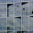 Irregular office building facade — Stock Photo