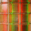 Neon Glass Brick — Stock Photo