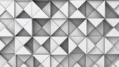 Hintergrund von extrudierten dreiecke — Stockfoto