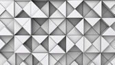 Background from extruded triangles — Stock Photo