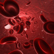 Stock Photo: Blood stream