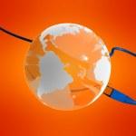 Global network — Stock Photo #12445970