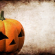 Royalty-Free Stock Photo: Grunge pumpkin