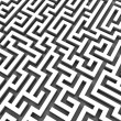 3d maze — Stock Photo #12447055