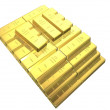 Gold bars — Stock Photo