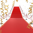 Stockfoto: Red carpet