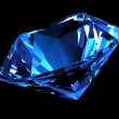 Stock Photo: Blue diamond