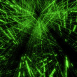 Stock Photo: Green matrix