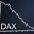 Stock Photo: Dax statistic