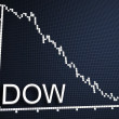 Stock Photo: Dow statistic