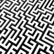 3d rendered illustration of maze — Stock Photo #12449744