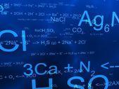 Science formulas — Stock Photo