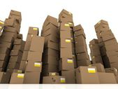 Cartons - boxes — Stock Photo
