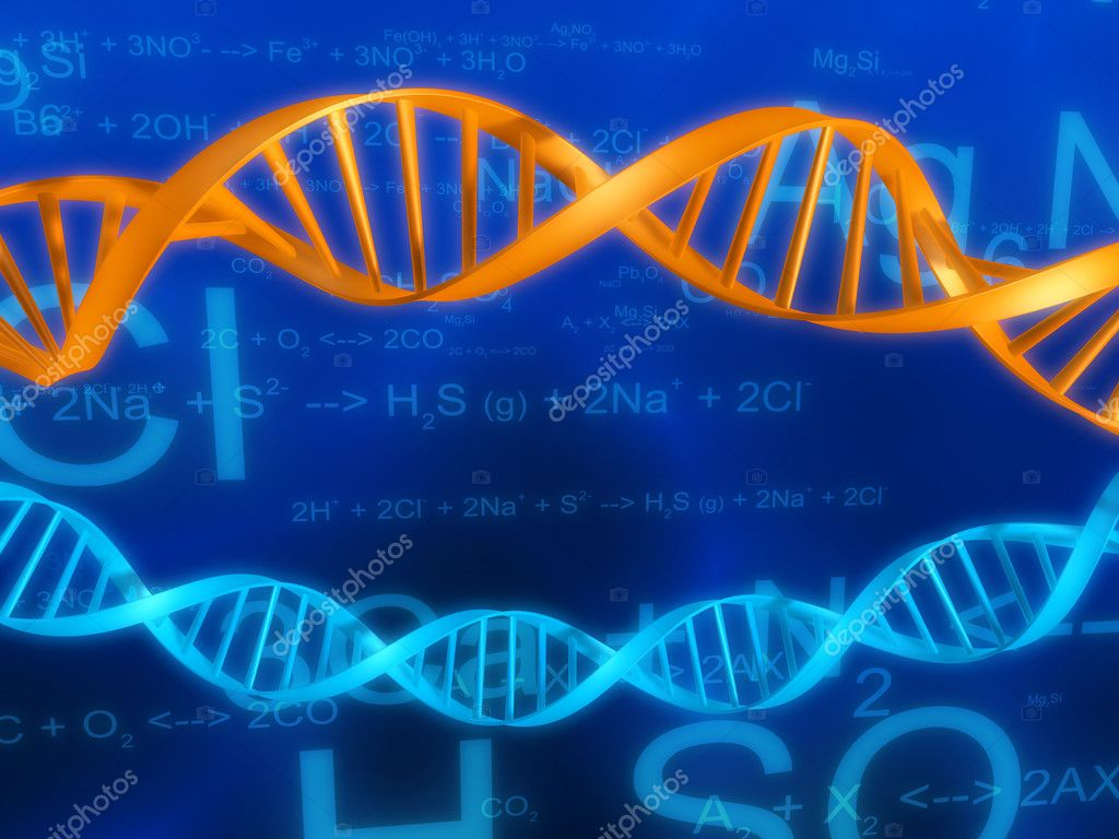 Illustrations -  dna  — Stock Photo #12446251