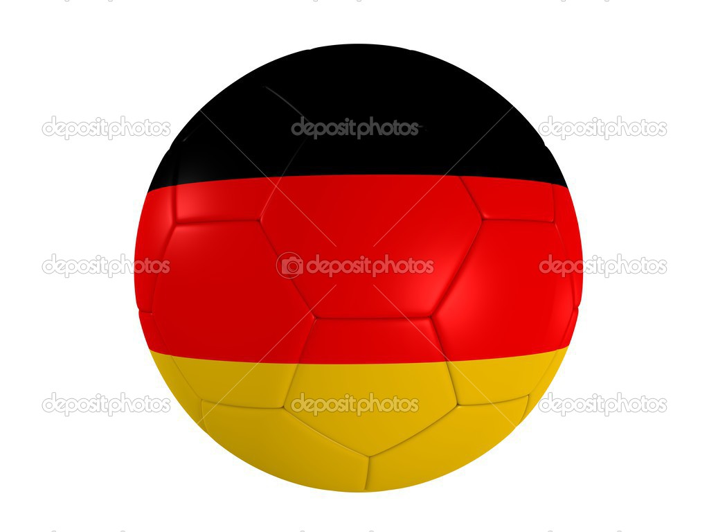 Soccer ball germany  Stock Photo #12449996