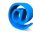 Stock Photo: Mail symbol