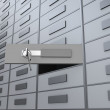 Deposit box - Stock Photo