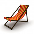 Royalty-Free Stock Photo: Deck chair
