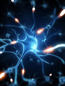 Cellula nervosa — Foto Stock