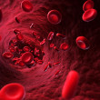 Illustration - blood cells - Stock Photo