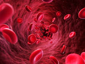 Illustration - blood cells — Stock Photo