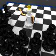 Stock Photo: Chess religion