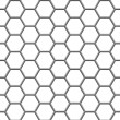 Hexagonal grid — Vecteur #34940043