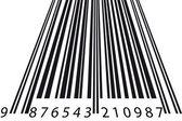 Tilt barcode — Stock Vector
